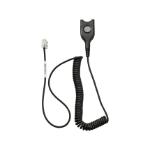 EPOS 1000836 telephone cable Black