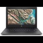 """HP Chromebook 11 G8 EE LPDDR4-SDRAM 29.5 cm (11.6"""") 1366 x 768 pixels Intel® Celeron® 4 GB 32 GB eMMC Wi-Fi 5 (802.11ac) Chrome OS Grey"""