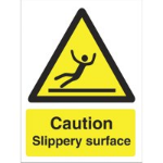 Stewart Superior Caution Slippery Surface Sign