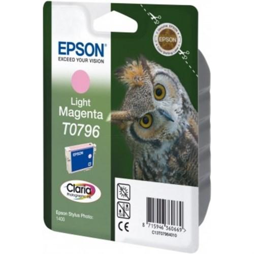 Epson C13T07964020 (T0796) Ink cartridge bright magenta, 11ml