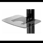Peerless ACC-GS1 multimedia cart accessory Black Shelf