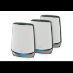 Netgear RBK853 Tri-band (2.4 GHz / 5 GHz / 5 GHz) Wi-Fi 6 (802.11ax) Grey 4 Internal
