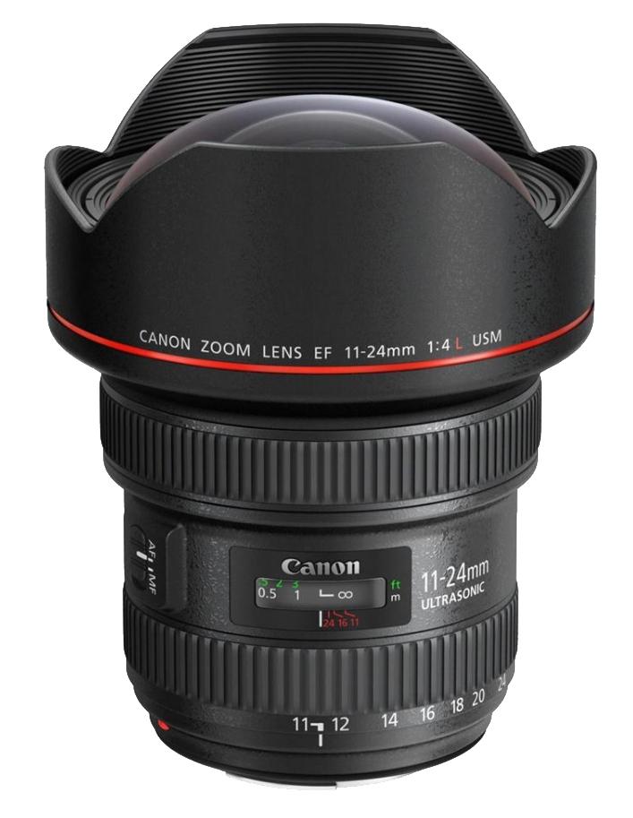 Canon EF 11-24mm f/4L USM MILC/SLR Ultra-wide lens
