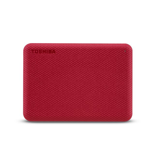 Toshiba Canvio Advance disco duro externo 4000 GB Rojo