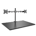 """Lindy 40658 monitor mount / stand 71.1 cm (28"""") Freestanding Black"""