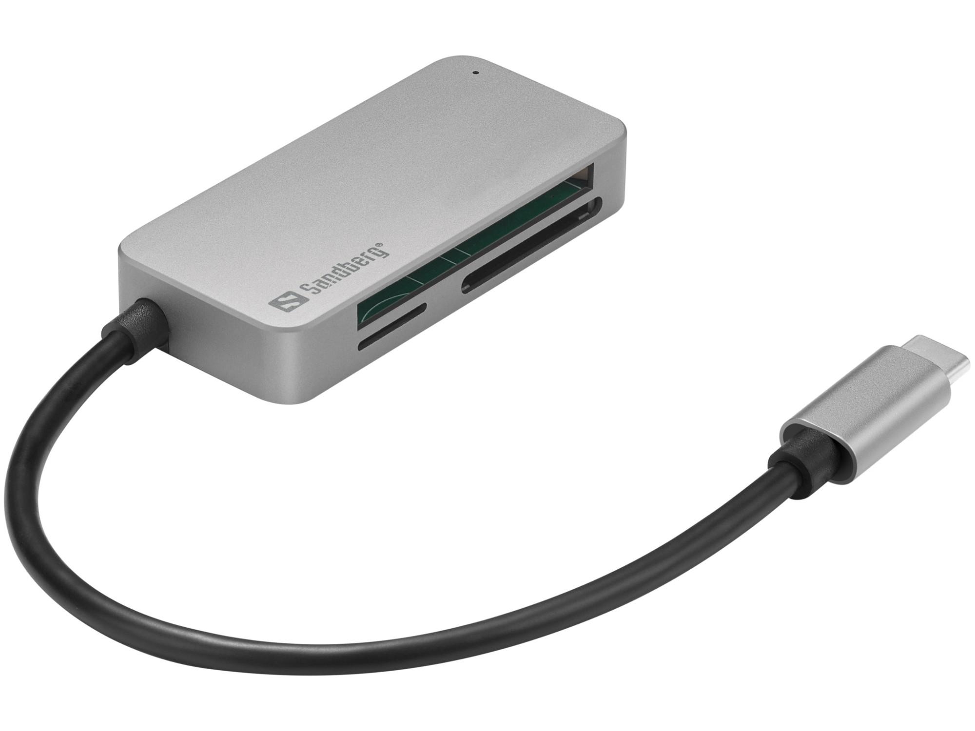 Sandberg USB-C Multi Card Reader Pro