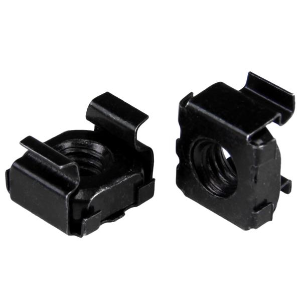 StarTech.com M5 Cage Nuts - 50 Pack, Black