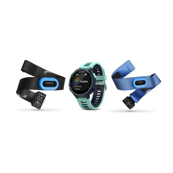 Garmin Forerunner 735XT Black,Blue sport watch
