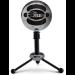 Blue Microphones Snowball Micrófono de superficie para mesa Negro, Cromo