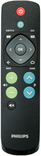 Philips 22AV1601A/12 remote control TV Press buttons