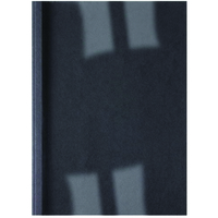 GBC LEATHERGRAIN THERMAL BINDING COVERS 6MM BLACK (100)