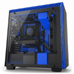 NZXT H700i Midi-Tower Black, Blue computer case