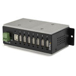 StarTech.com 7-Port Industrial USB 2.0 Hub with ESD Protection & 350W Surge Protection