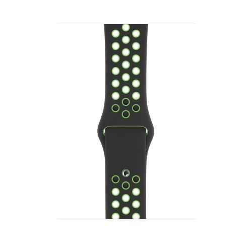 Apple MXR02ZM/A smartwatch accessory Band Black,Lime Fluoroelastomer