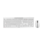CHERRY Stream Desktop Recharge keyboard RF Wireless QWERTY English Grey JD-8560GB-0
