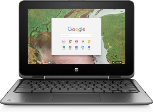 "HP Chromebook x360 11 G1 Silver 29.5 cm (11.6"") 1366 x 768 pixels Touchscreen Intel® Celeron® N3350 4 GB LPDDR4-SDRAM 32 GB eMMC"