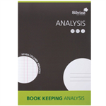 Silvine A4 Journal Printed Analysis PK6