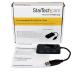 StarTech.com Portable 4 Port SuperSpeed Mini USB 3.0 Hub - Black ST4300MINU3B