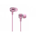 SBS Studiomix 40 auriculares para móvil Binaural Dentro de oído Rosa