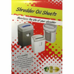 PHE GOLD SOVEREIGN SHREDDER OIL SHEETS 12 PACK