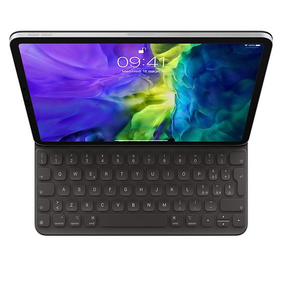 Apple MXNK2T/A mobile device keyboard QZERTY Italian Black