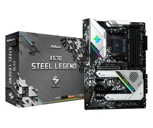 Asrock X570 Steel Legend motherboard Socket AM4 ATX AMD X570