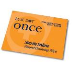 Crest Medical Blue Dot Sterile Saline Wipes (Pack 100)