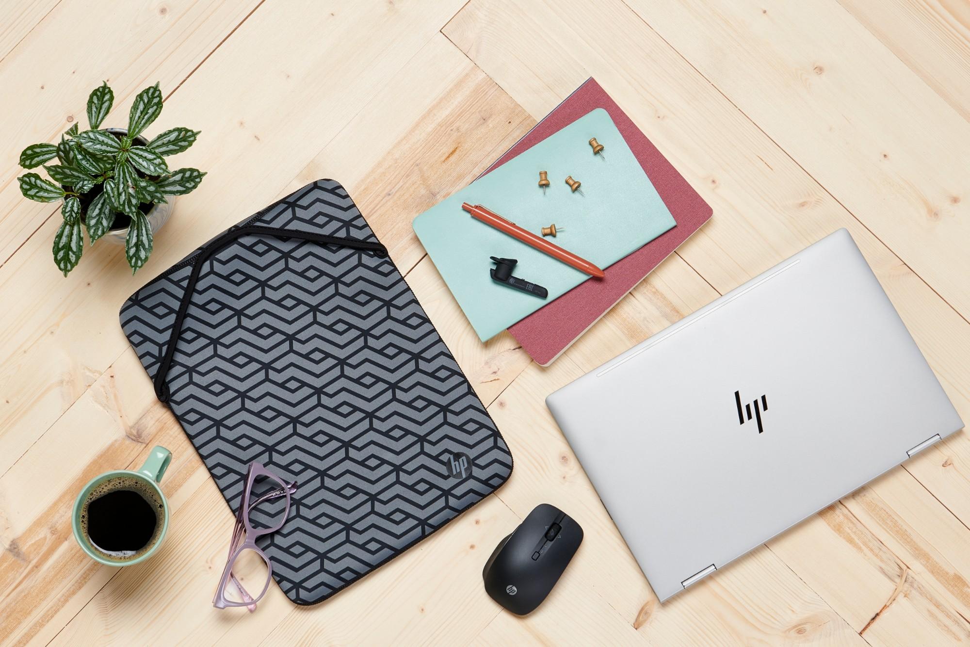 "HP Reversible 11.6-inch Sleeve maletines para portátil 29,5 cm (11.6"") Funda Negro"