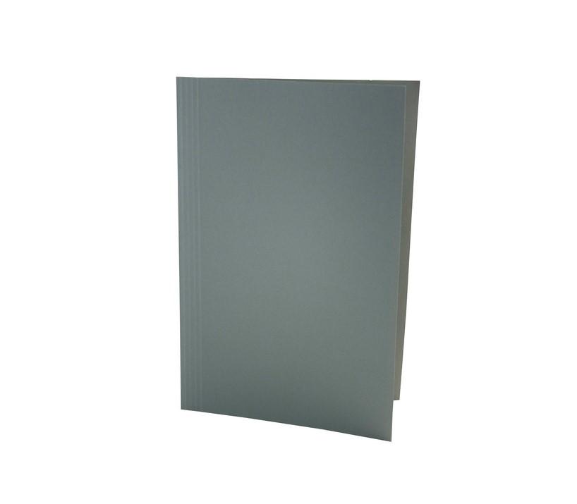 Exacompta Value Square Cut Folder LightWeight Foolscap Green PK100