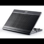 """DeepCool DP-N146-N9BK notebook cooling pad 43.2 cm (17"""") 1000 RPM Black"""