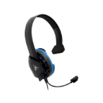 Turtle Beach Recon Chat Headset for PS5, PS4, Xbox one, Switch - Black & Blue