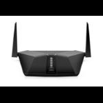 Netgear LAX20 Nighthawk wireless router Gigabit Ethernet Dual-band (2.4 GHz / 5 GHz) 3G 4G Black