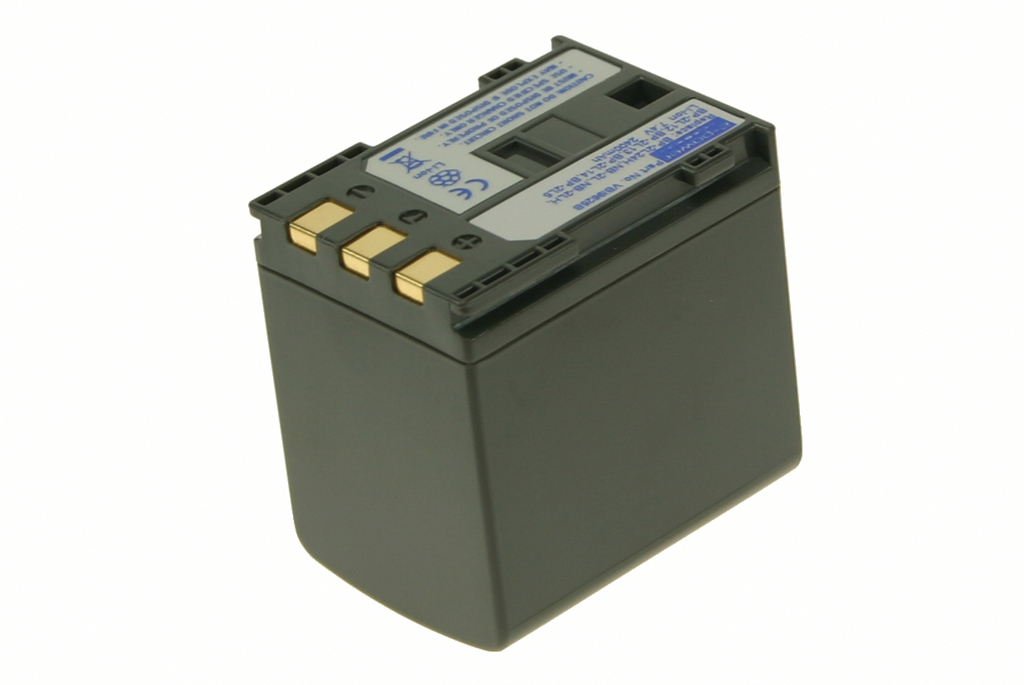 2-Power Camcorder Battery 7.4v 2400mAh