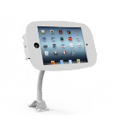 Maclocks Apple iPad 2/3/4 Mounting Kit - Mount, Anti-Theft Enclosure, Flexible Arm, White