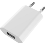 Vision TC-PUSBAEU mobile device charger White Indoor