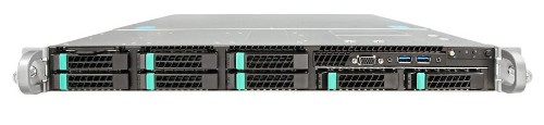 Intel R1208WT2GSR server barebone Intel® C612 LGA 2011-v3 Rack (1U) Black,Silver