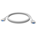 Vision TC 2MSEXT 2m 9-pin D-Sub 9-pin D-Sub White serial cable