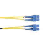 Black Box FOSM-LSZH-001M-SCSC fibre optic cable 1 m ESCON SC OS2 Yellow