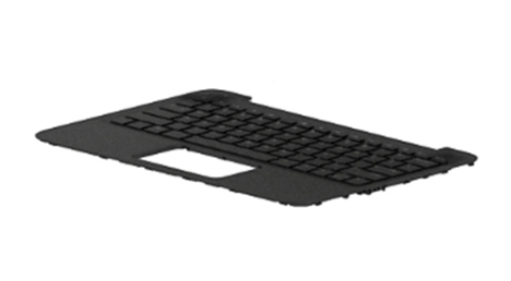 HP L44342-031 notebook spare part Housing base + keyboard