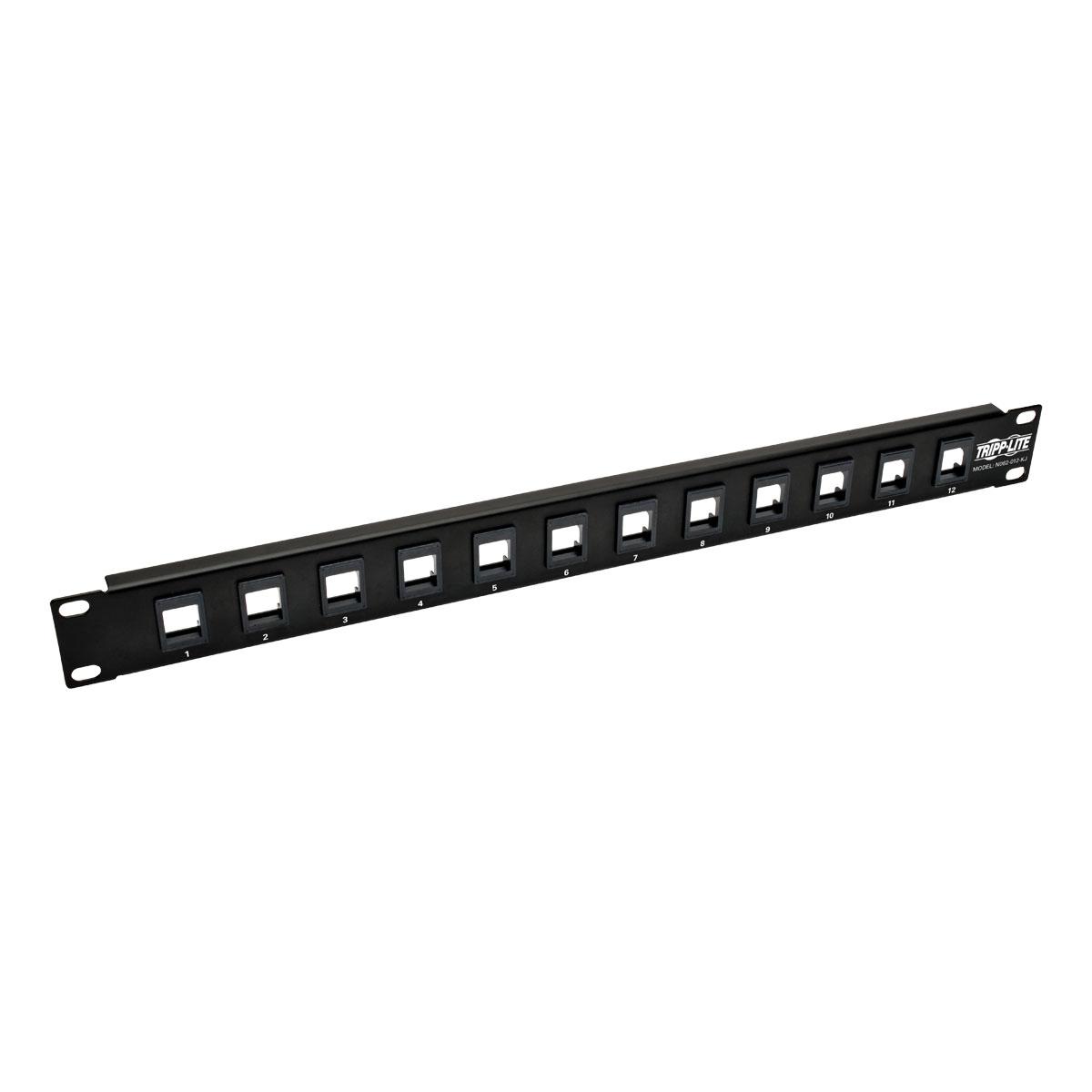 Tripp Lite N062-012-KJ 1U patch panel