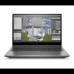 "HP ZBook Fury 15 G7 Mobiel werkstation 39,6 cm (15.6"") Full HD Intel® 10de generatie Core™ i7 16 GB DDR4-SDRAM 512 GB SSD NVIDIA Quadro T1000 Wi-Fi 6 (802.11ax) Windows 10 Pro Zilver"