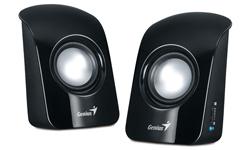 Genius SP-U115 loudspeaker 1 W Black