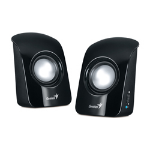 Genius SP-U115 loudspeaker 1 W Black
