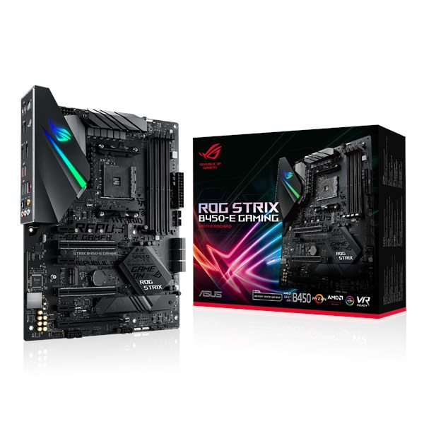 ASUS ROG STRIX B450-E GAMING moederbord Socket AM4 ATX AMD B450