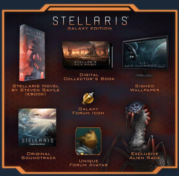Nexway Stellaris - Galaxy Edition Video game downloadable content (DLC) PC/Mac/Linux Español