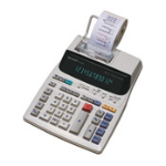 Sharp EL1801V Pocket Printing calculator White calculator
