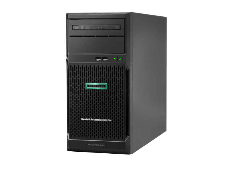 Hewlett Packard Enterprise ProLiant ML30 Gen10 server 3,5 GHz Intel® Xeon® E-2134 500 W