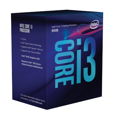 Intel Core i3-8350K processor 4 GHz Box 8 MB Smart Cache