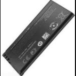 MicroSpareparts Mobile 1650mAh, 3.7V 1650mAh 3.7V rechargeable battery