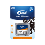Team Group Compact Flash Card 8GB 133x 8GB CompactFlash memory card
